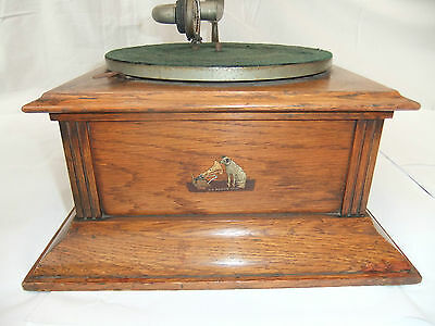 HMV Horn Gramophone Model B, HBO in excellent condition. HBAO early version.