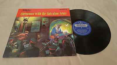 Christmas With The Salvation Army Uk Lp In Mono Regal Records Carols Hymns Songs