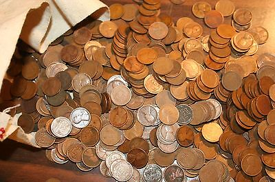 Mixed Lincoln Wheat Cent Penny Roll 1909-1929 Teens - Twenty;s Pds Mints # 1