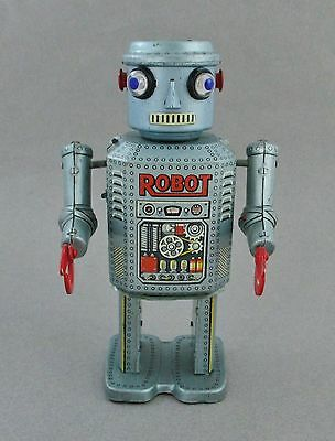 Vintage LineMar R-35 Remote Control Tin Toy Robot