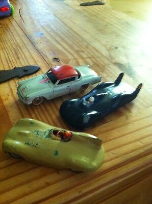 Lot 3 Voitures Repeintes Dinky Toys Solido Quiralu