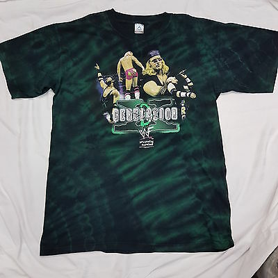WWF  D-Generation X Official WWE WRESTLING  2000 T-Shirt XL