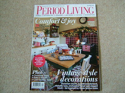 Period Living Magazine - December 2016 - Decorating - Vintage - Antiques