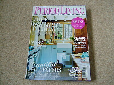 Period Living Magazine - November 2016 - Decorating - Vintage - Antiques