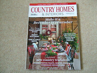 Country Homes & Interiors Magazine - December 2016 - Christmas In The Counties