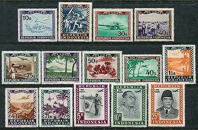 4008 -  Indonesia 1948 - POS UDARA - Air Post Officials - Lokal issue - MNH Set