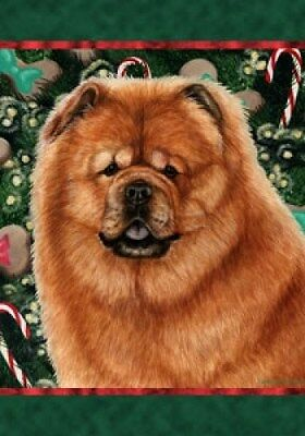Large Indoor/Outdoor Holiday Flag - Chow Chow 14114