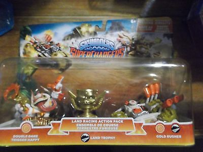 Skylanders Superchargers * Land Racing  * Double Dare Trigger * Gold Rusher *