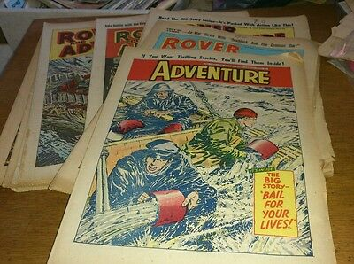 10 Rover And Adventure Comics, 1961-63