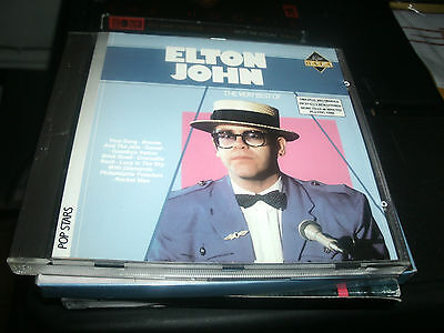 Elton John - The Very Best Of Cd.arcade Records 1986.made In Japan.print Holland
