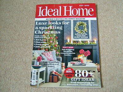 Ideal Home Magazine - December 2016 - Luxe Looks For A Sparkling Christmas