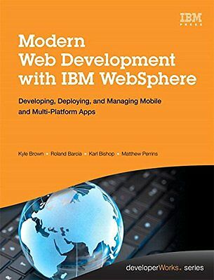 Modern Web Development with IBM WebSphere IBM Press 1 Anglais 300 pages Relie