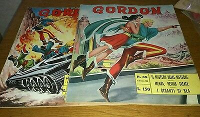 2 Flash Gordon Comics, 1966, Italian Text