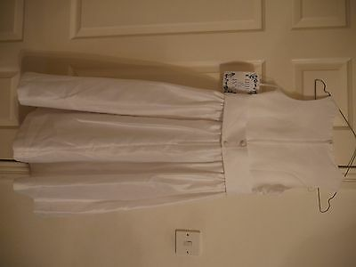 Flower Girl First Holyy Communion Dress Age 10 Years White
