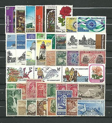 New Zealand, 44 Various, Used