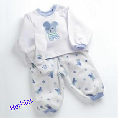 Lee Middleton Puppy Pajamas Fits  Nursery, Cuddle Babies & 19-inch Dolls