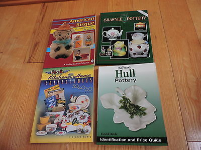 4 Price Guides American Bisque Kitchen Collectibles Shawnee Pottery Hull Book