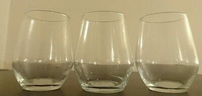 4 Short Glasses Sweet Table Wedding Party Display