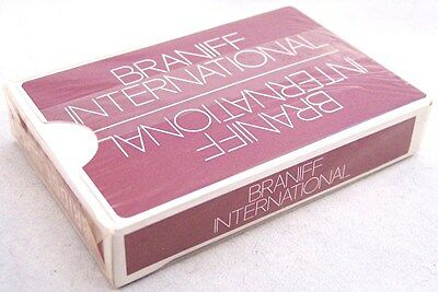 NEW Sealed Braniff International Airlines Deck of Bridge Size Playing Cards