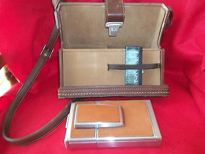 Estate - Poloroid SX 70 Land Camera And Leather Carring Case