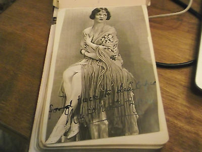Early 20Th Century Autograph Book With Over 140 Stage Actor Signatures