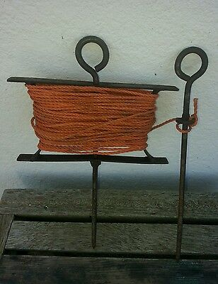 Vintage Garden String Winder Seed Row Marker String Winder And Pin