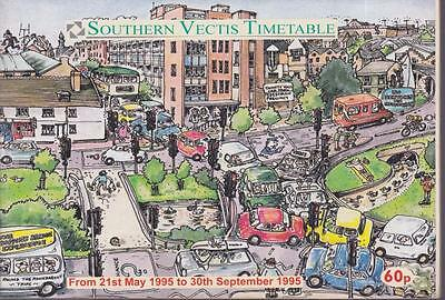 Southern Vectis Bus Timetable Book May 1995