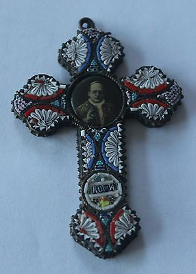 Pre WW2 Pilgrim Cross from Rome from Pius X1 Era