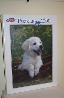 Lucky Dog Labrador Puppy 1000 Piece Jigsaw Puzzle Factory Sealed