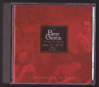 """""""the Bee Gees Through The Decades - Ellan Vannin"""" Rare Isle Of Man Cd & Stamps"""