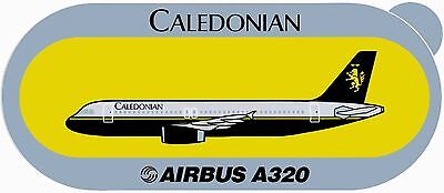 Airbus Sticker CALEDOONIAN A320