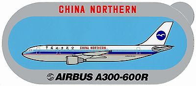 Airbus Sticker CHINA NORTHERN A300-600R