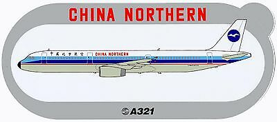 Airbus Sticker CHINA NORTHERN A321