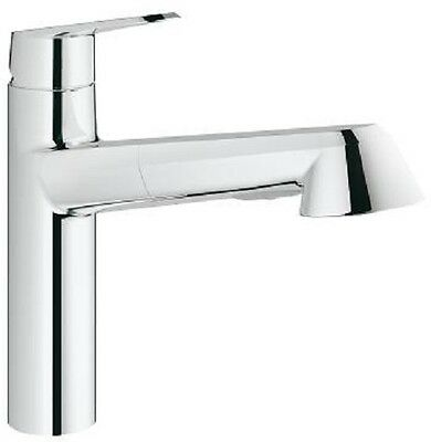 Grohe Eurodisc Cosmopolitan Pull Out Spray Spout Cosmo Sink Mixer Tap 32257002