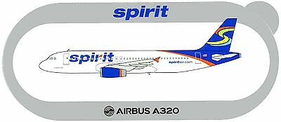 Airbus Sticker SPIRIT AIRLINES A320 - V2