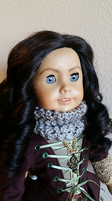 """1988 White Body Kirsten Doll ~ Custom inspired by """"Claire"""" from Outlander"""