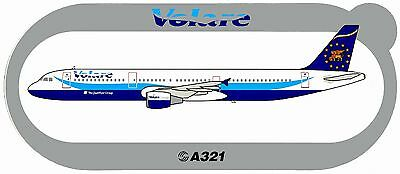 Airbus Sticker VOLARE AIRLINES A321