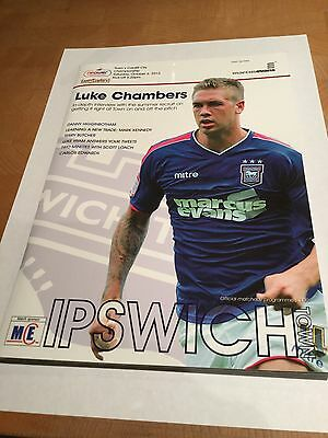 Ipswich Town v Cardiff City (Champions) 06.10.12