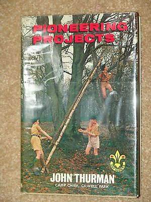 Thurman - Pioneering Projects - dust jacket in mylar cover