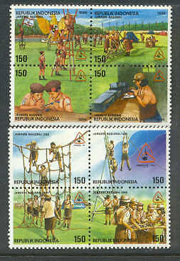 INDONESIA 1996 NATIONAL SCOUT JAMB Girl Scout HAM RADIO