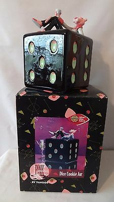 Vandor 1998 Premiere Edition Pink Panther With Dice Cookie Jar MIB #H867.