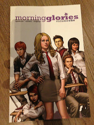 image comics MORNING GLORIES graphic novel  #1,2,3,4,5,6  volume one