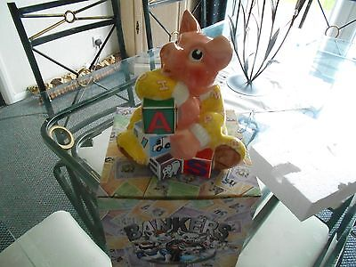 paul cardew moneybox new boxed  2005 baby banker