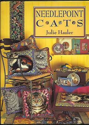 Needlepoint Cats Book