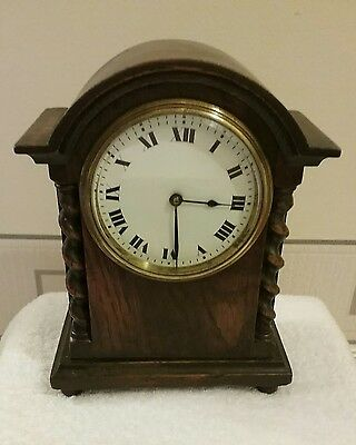 Mantel Clock Buren Swiss Made Spares Or Repair