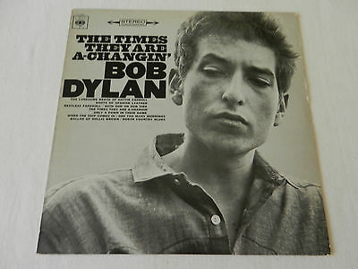 BOB DYLAN - THE TIMES THEY ARE A-CHANGIN',LP,1967er Re-Release,orig.1964,VG+