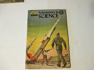 Classics Illustrated Special Issue 138a Adventures in Science 1957