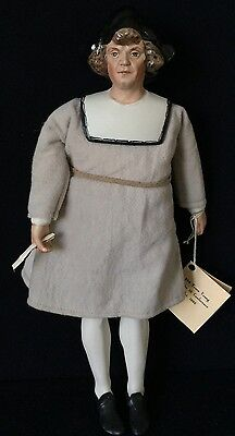 "13"" Christopher Columbus,ufdc Conference Doll 1992–Kathy Redmond"