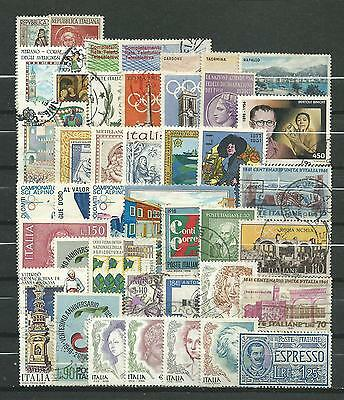Italy, 42 Various, Used