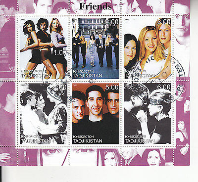 Friends Sheet Of Stamps